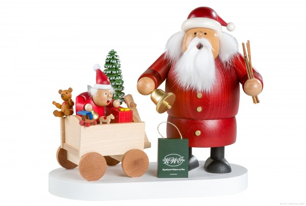 Santa with Child - Incense Smoker / Limited Edition