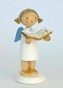 Engel mit Notenbuch