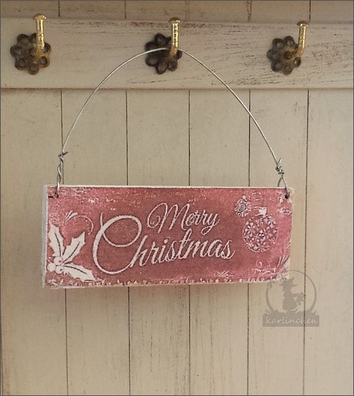 sign large / Merry Christmas