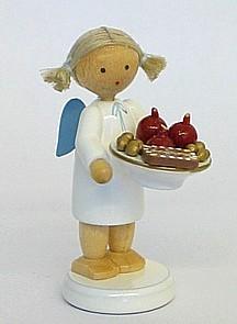 Engel mit Nikolausteller