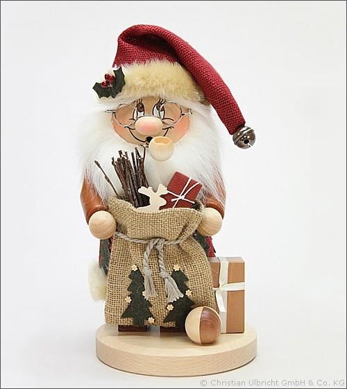 Weihnachtsmann Wichtel - Räuchermann