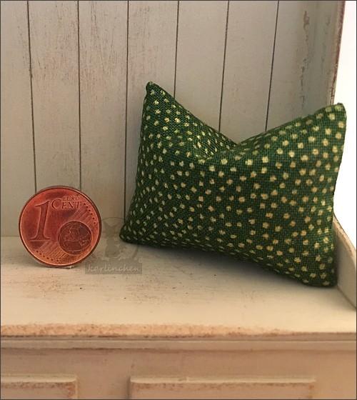 pillow, dark green