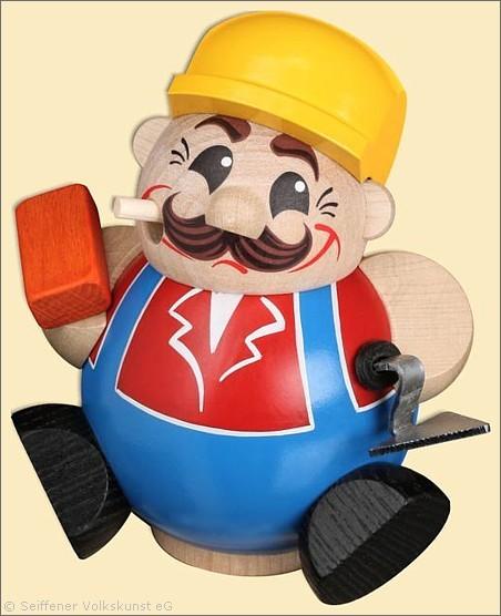 Bauarbeiter - Räuchermann