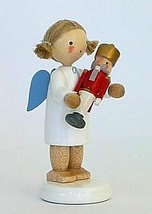 Engel mit Nussknacker