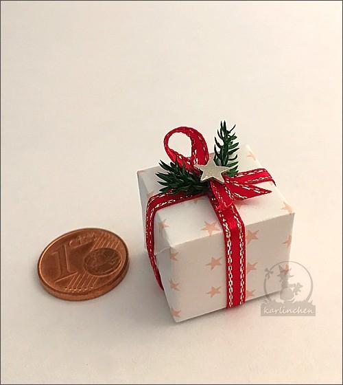 Geschenkpäckchen, handgefertigt / Motiv 3