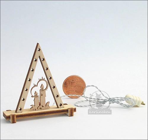 Miniatur-Fensterdreieck, elektrisch / 12 V