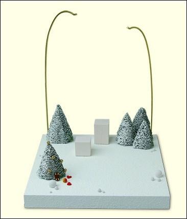 """Kulisse """"Im Schnee"""""""