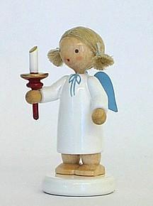 Flade Engel mit Kerze