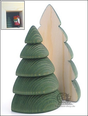 Baum, halbiert / 9,5 cm