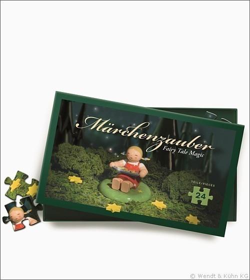 """Puzzle """"Sterntalermädchen"""" / 24 Teile"""