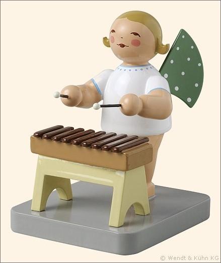 angel with xylophone