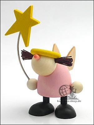 Engel Frieda mit Stern, stehend