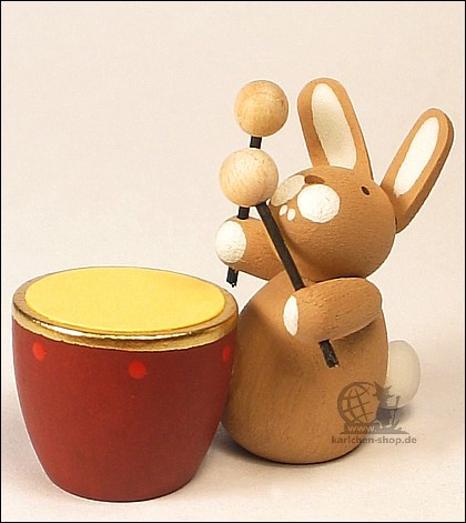 bunny with kettledrum