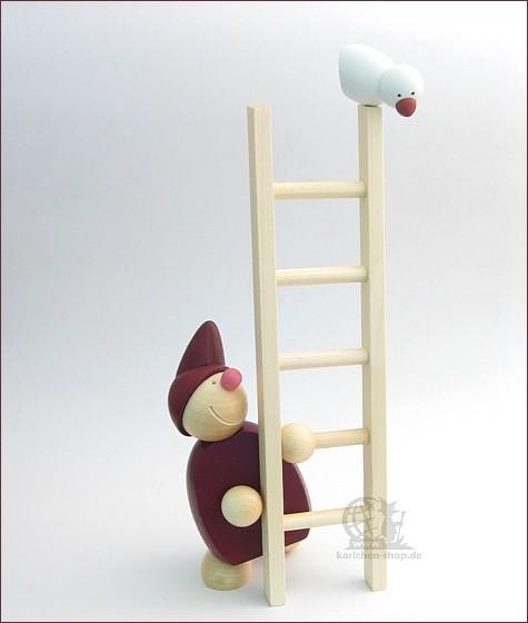 näumanns Wicht mit Leiter