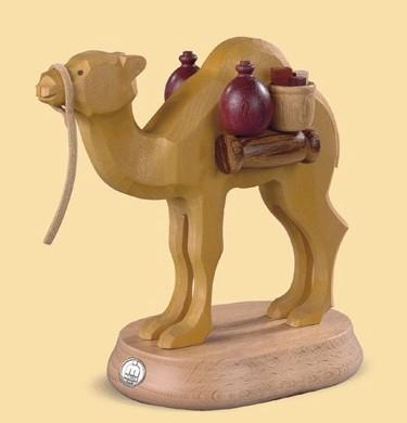Kamel, handgeschnitzt