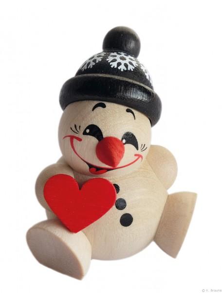 COOL MAN mit Herz, schwarze Mütze