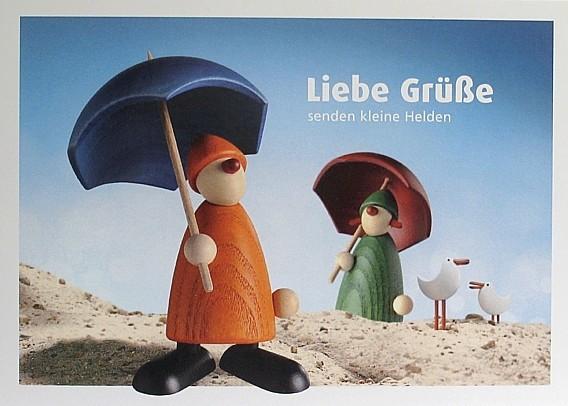 "Postkarte ""Liebe Grüsse"""