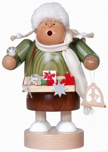 Weihnachtsmarktverkäuferin - Räucherfrau