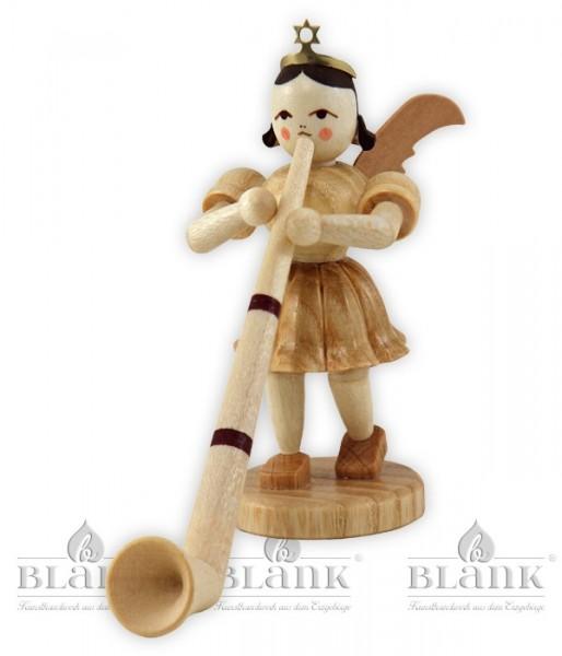 Engel mit Alphorn