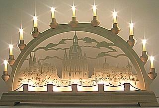 Taulin Lichterbogen Frauenkirche