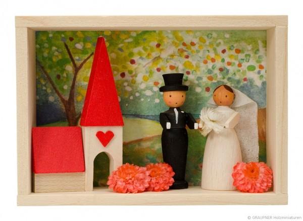 Glückwunschkästel Brautpaar