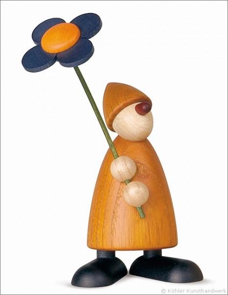 Phillip mit Blume