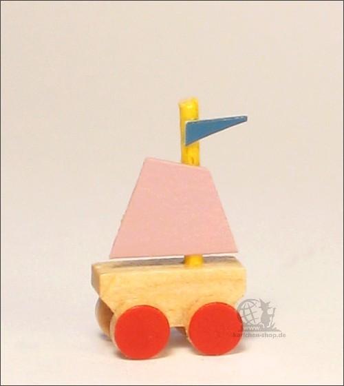 small ship on wheels