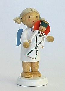 Engel mit Seiffener Engel