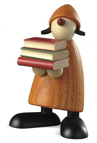 Lilly mit Büchern