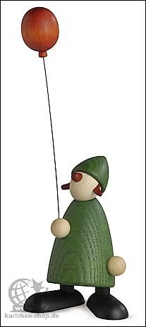Lina mit rotem Luftballon