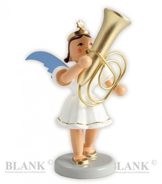 Angel with Tuba, coloured