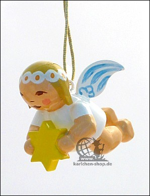 Little suspended angel with star