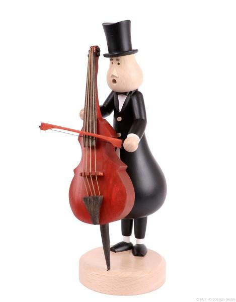 Double Bass Player Eugen - Incense Smoker