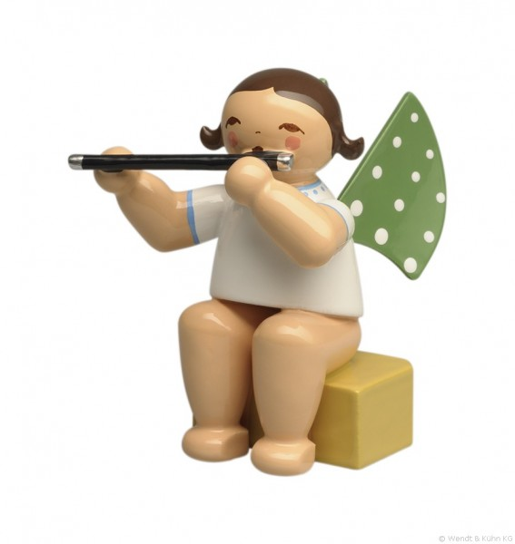 Wendt & Kuehn Small Angel with Transverse Flute