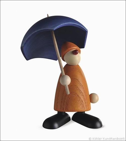 Charlie mit Schirm
