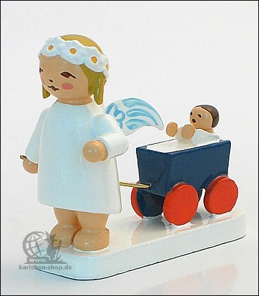 marguerite angel with doll carriage
