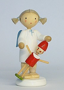 Angel with Pinocchio