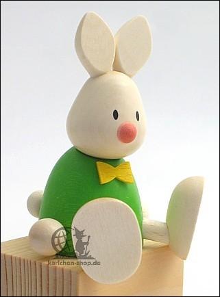 Kaninchen Max, sitzend