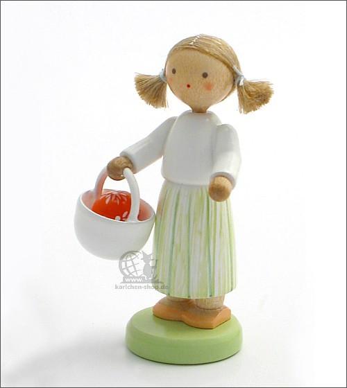 Mädchen mit Osterkörbchen / leider vergriffen