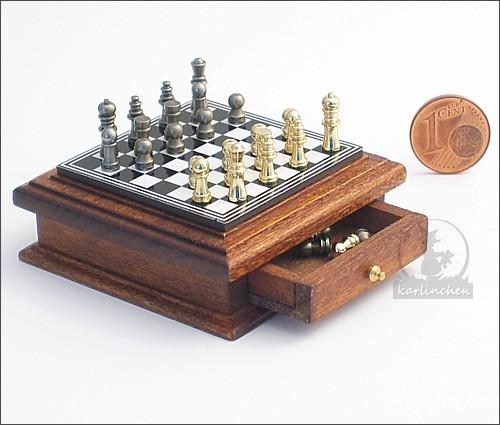 Miniatur Schachspiel