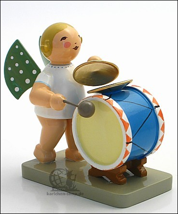 Angel with Percussion