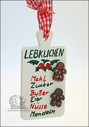 Backbrettchen - Baumbehang