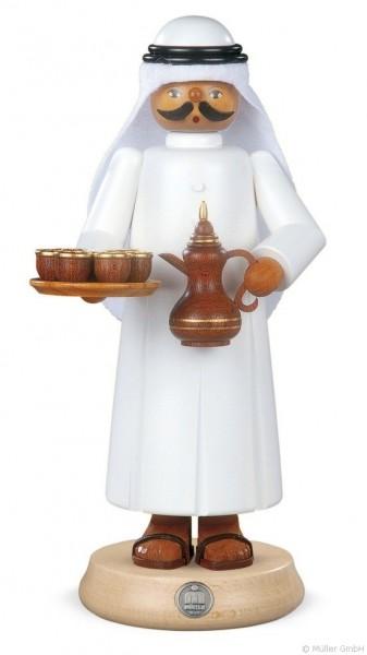 Araber mit Kanne und 7 Tassen - Räuchermann