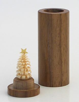 Christmas tree for the pocket