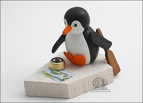 Pinguin auf grosser Fahrt