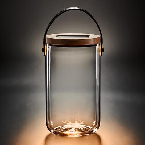 LED Deko Glas, lang