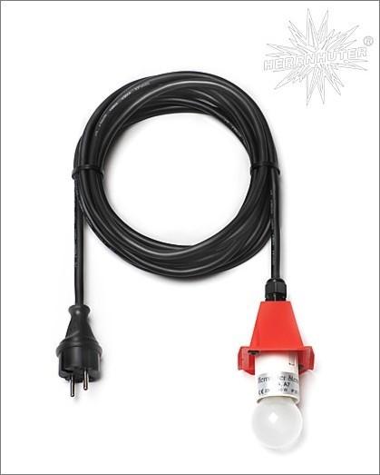 Kabel für Kunststoffstern / 5 m, rot