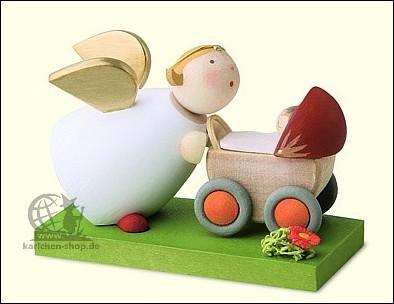 Schutzengel mit Puppenwagen