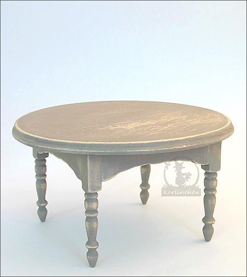 Tisch rund, shabby