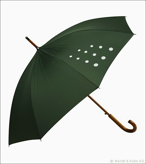 Regenschirm Wendt & Kühn / dunkelgrün